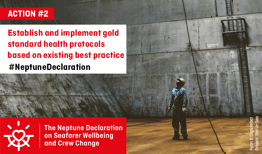 Establish and implement gold standard health protocols based on existing best practice
